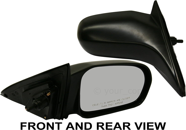 Power Mirror Right Door Passenger Side for 01-05 Honda Civic Coupe 2 Door