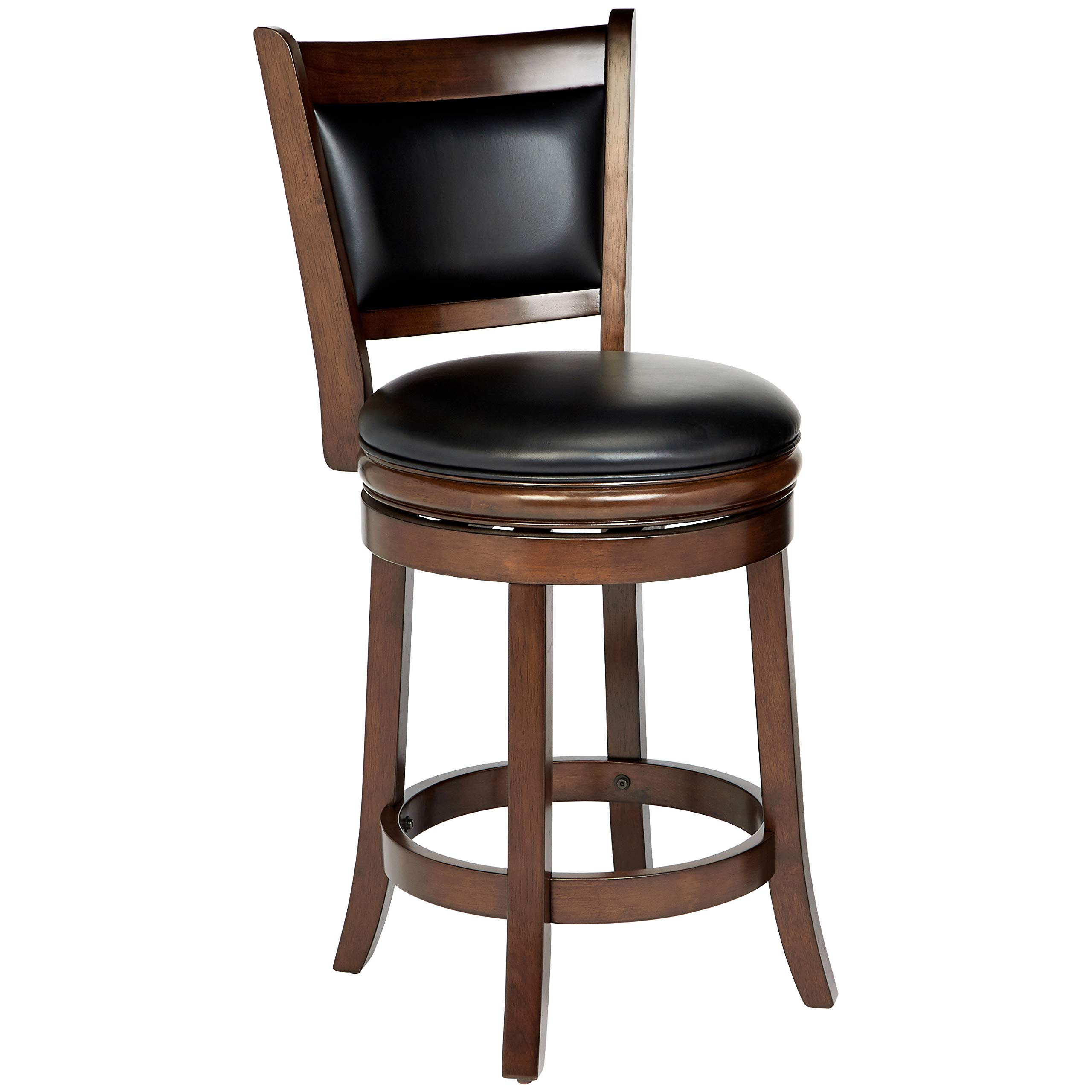 Ball & Cast HSA-1102B-2 Stool, 24'', Cappuccino by Ball & Cast (Image #3)