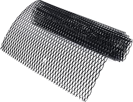 AUCD Universal Black Aluminum Racing Grille Mesh Vent Car Tuning Grill Body Grille Net Mesh Grill Section 100cm x 33cm