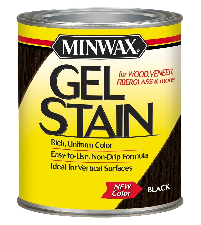 Minwax 660920000 Gel Stain, quart, Black