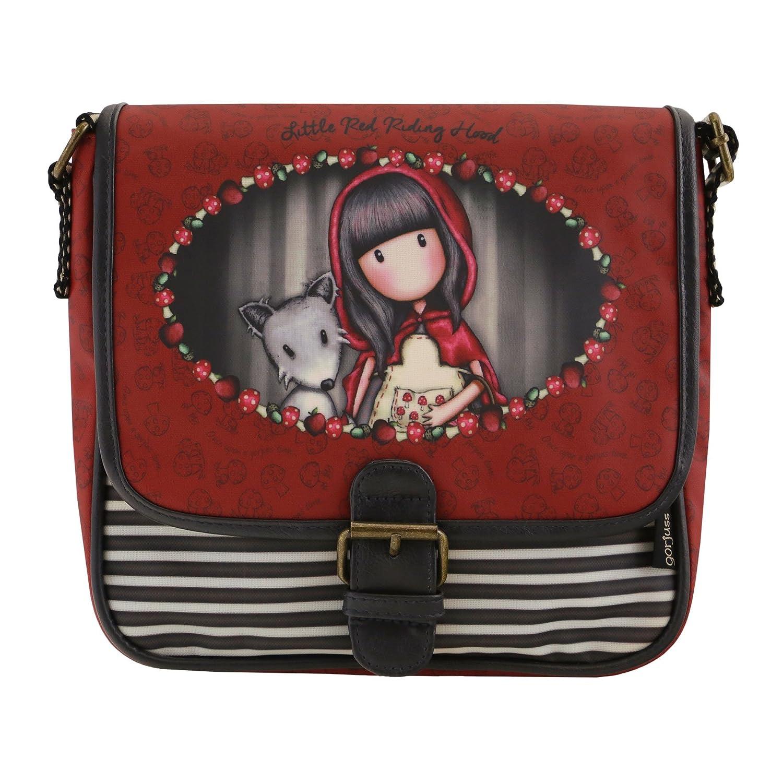 Chaperon rouge par Gorjuss petit sac de selle enduit