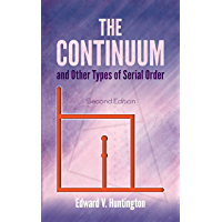 The Continuum and Other Types of Serial Order (Dover Books on Mathematics)