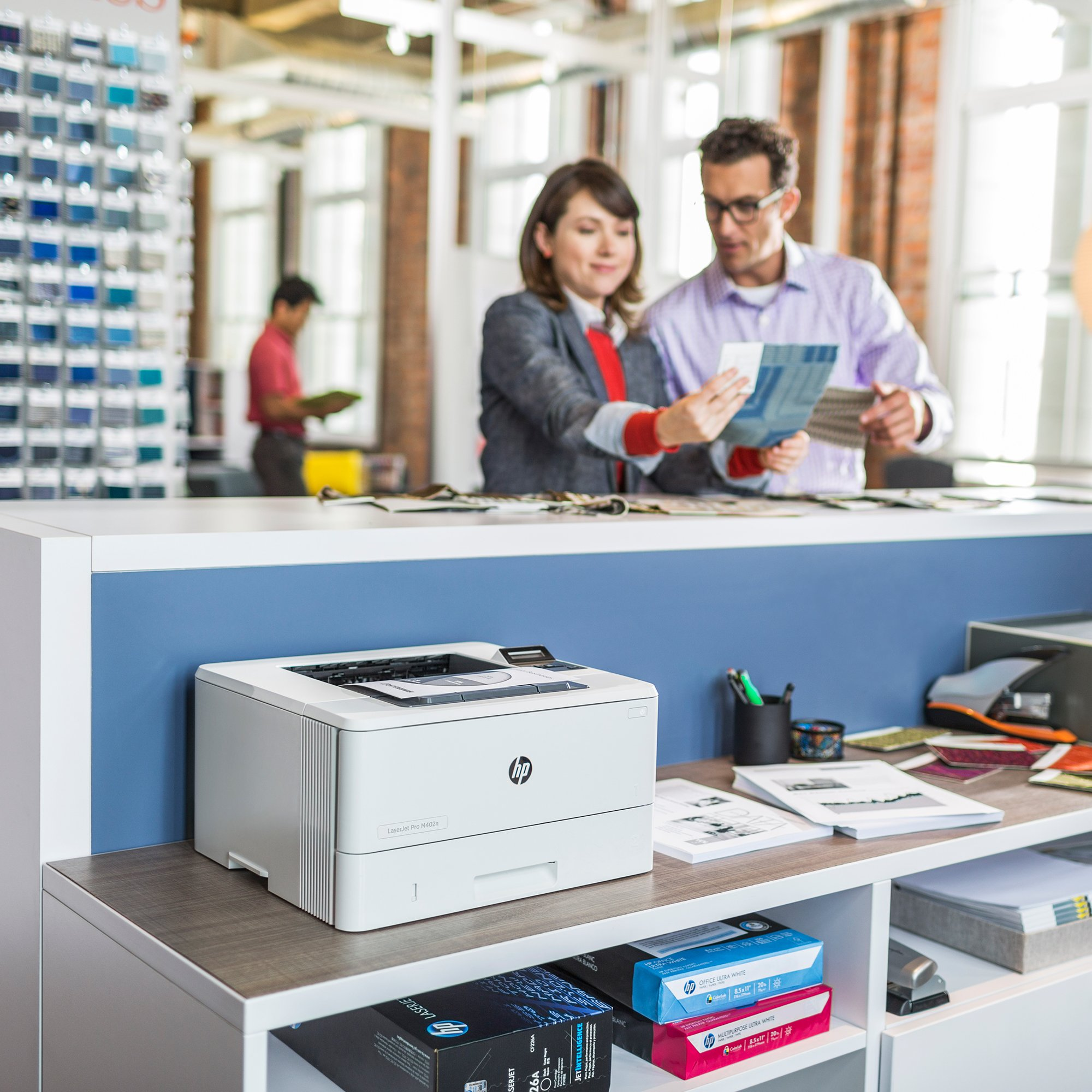 HP LaserJet Pro M402n Laser Printer with Built-in Ethernet, Amazon Dash Replenishment ready (C5F93A) by HP (Image #9)