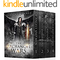 The Archangel Wars Series (Books 1 - 4)
