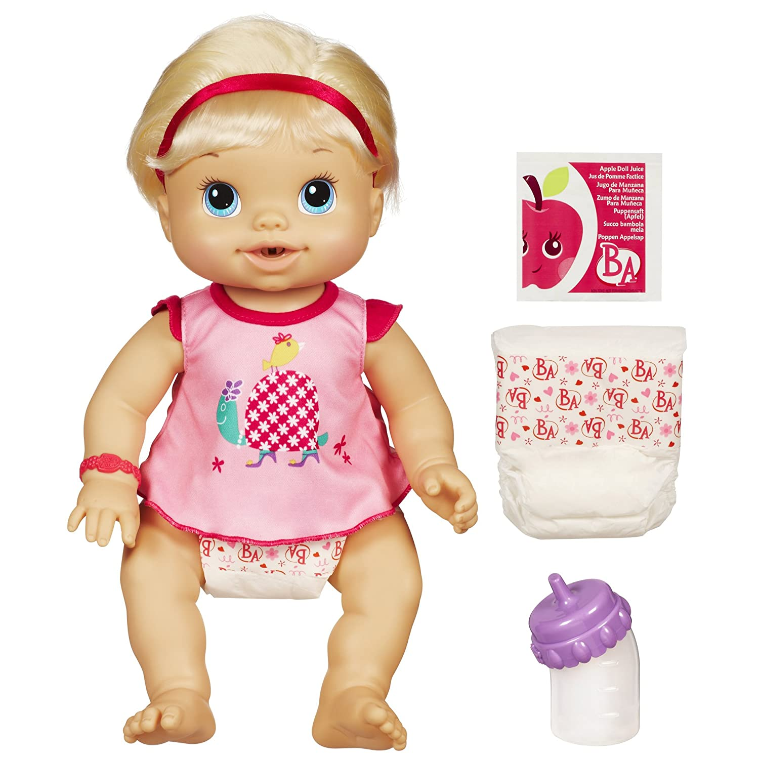 Baby Alive Wets And Wiggles Blonde Amazon Toys & Games