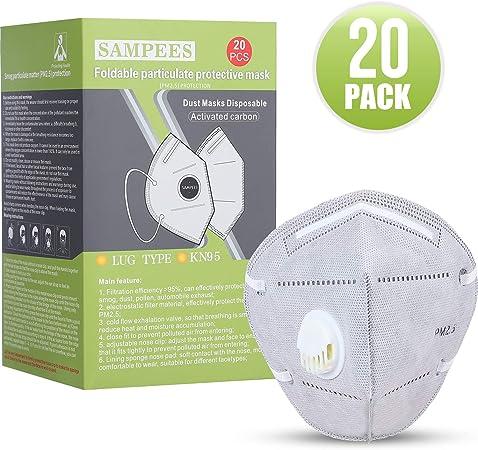 n95 dust masks 20 pack by b bielcor
