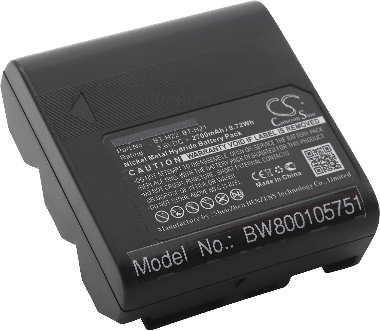 BATTERIA NI-MH per Sharp vl-e660u VL-A10E vl-e760 VL-E780 vl-e760h VL-AH151 NUOVO