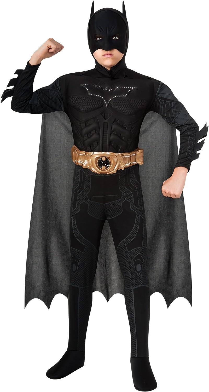 Disfraz de Batman niño The Dark Knight Rises con Luces: Amazon.es ...