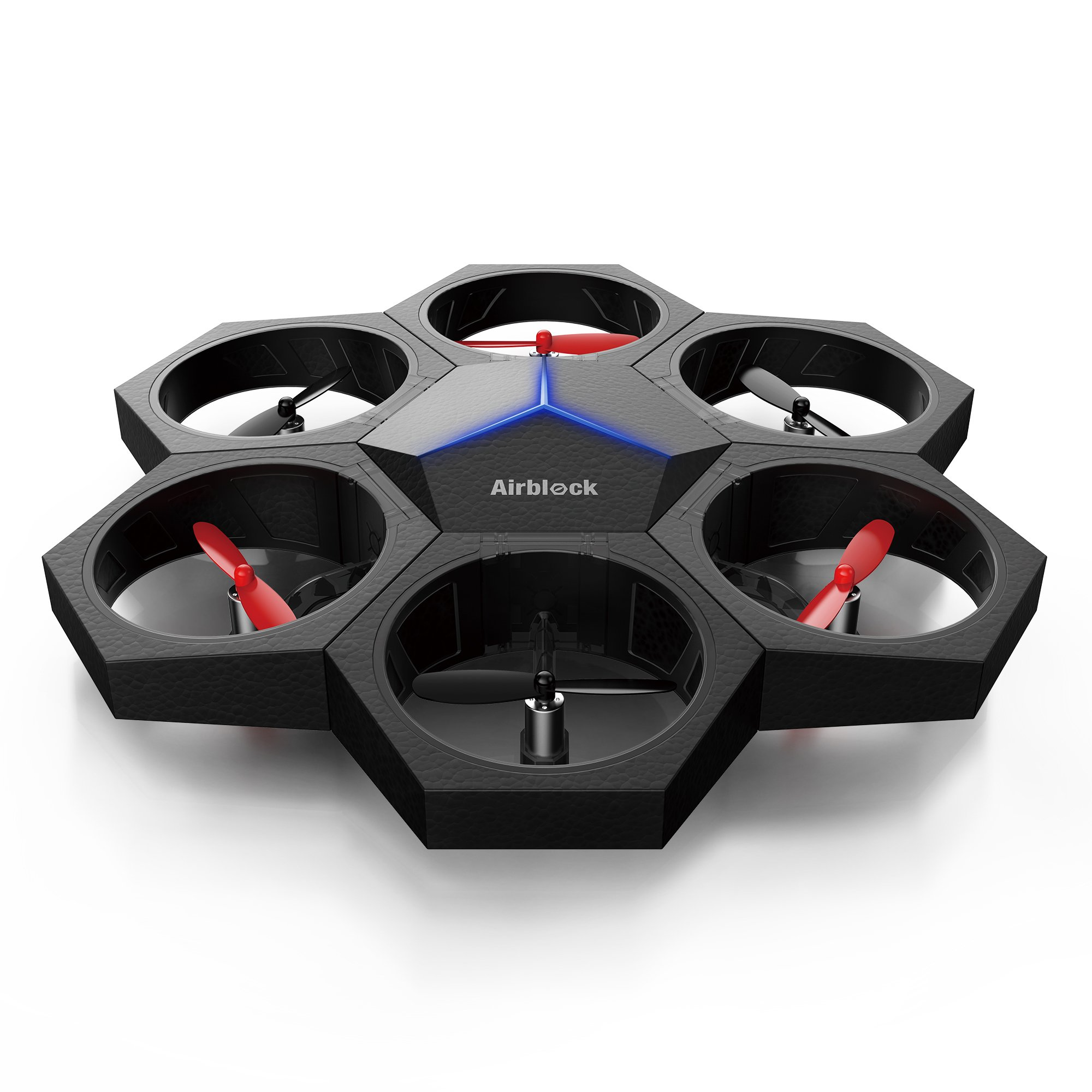 Makeblock Airblock Transformable Drone/Hovercraft Robot for Kids. Multi-Form Programmable Toy for Kids Easily Transform to Vehicle and More, No Experience Needed, Easily Assembled and Safe Structure