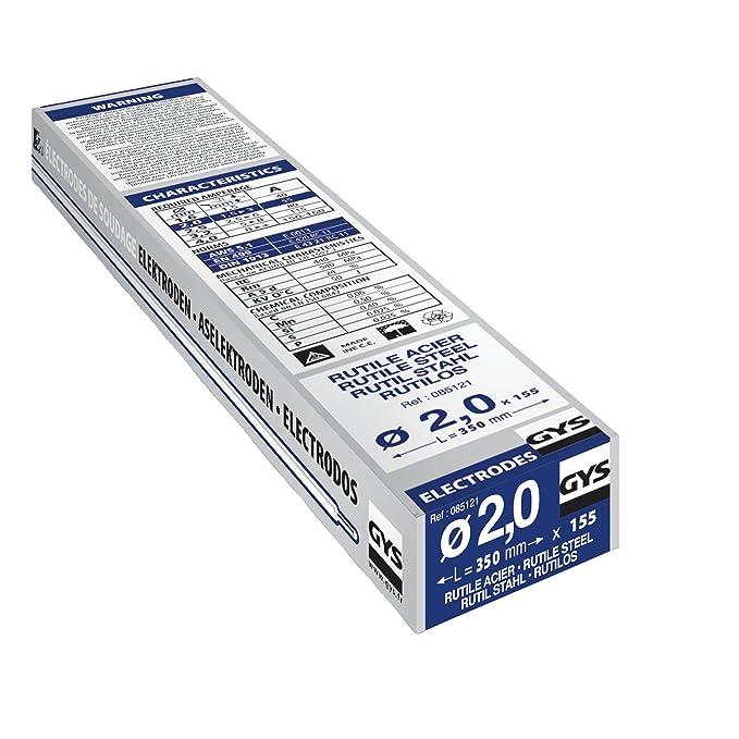 155 électrodes acier ø2