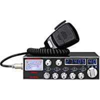 Galaxy Radios DX-959B Mobile CB Radio with Blue Frequency and Channel Digits and Backlit StarLite Faceplate
