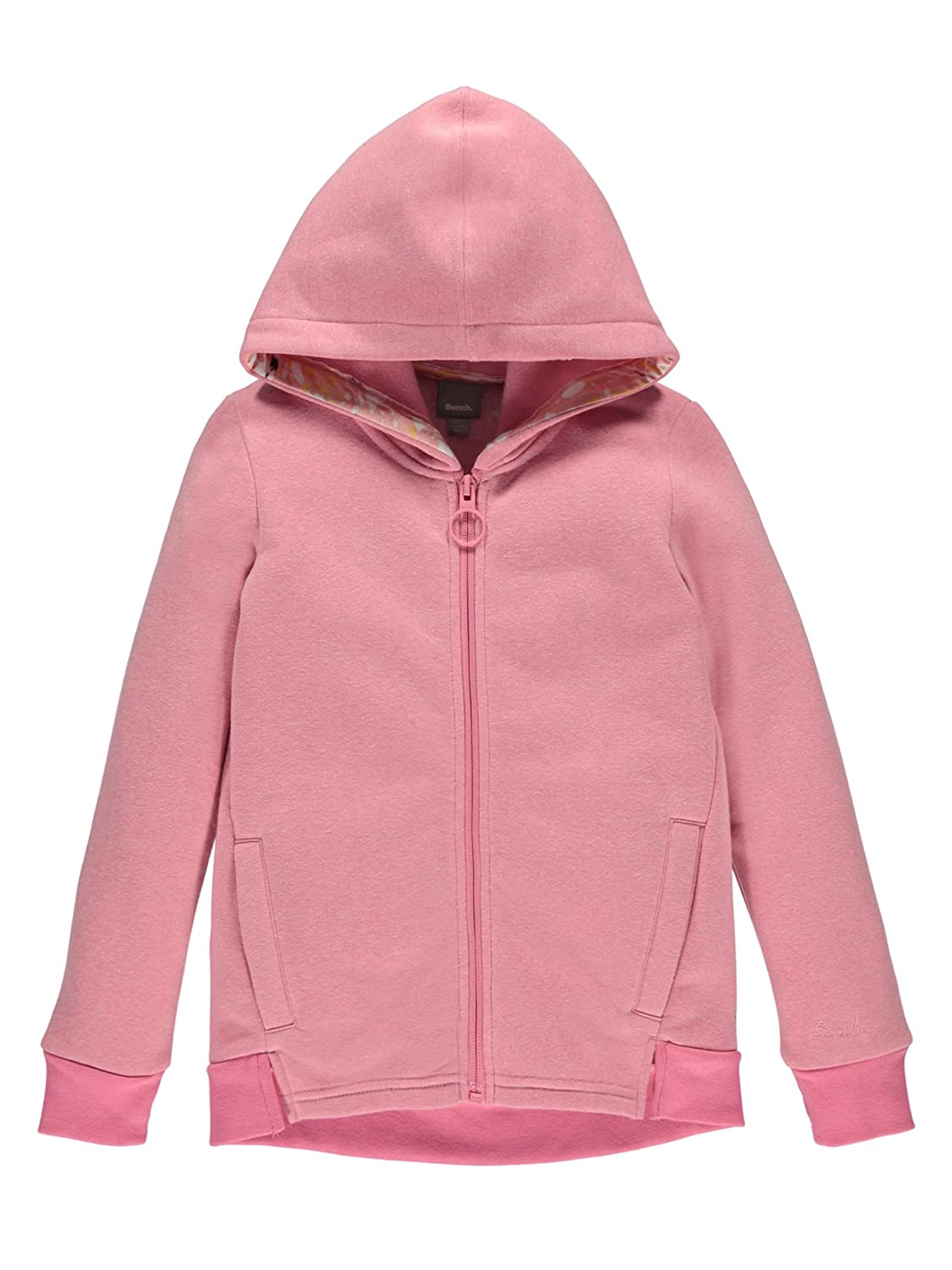 Bench Girl's Hooded Zip Thru Track Jacket BKGE000990
