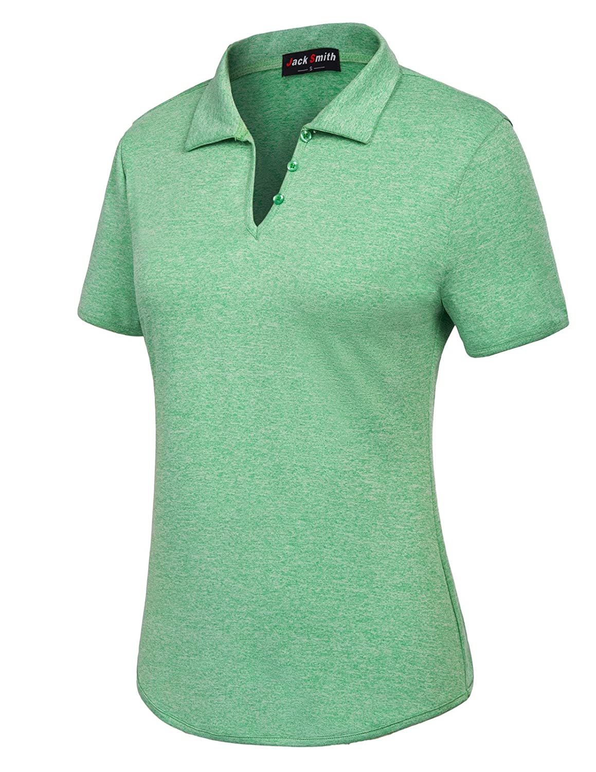 Jack Smith Polo Shirt Breathable Golf Polos For Women Xl Green At