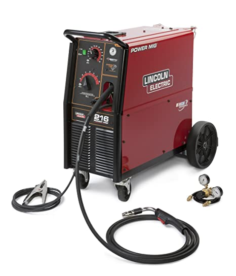 Lincoln Electric Mig Welder >> Lincoln Electric Mig Welder Power Mig 30 250 A 208 230v Amazon Co