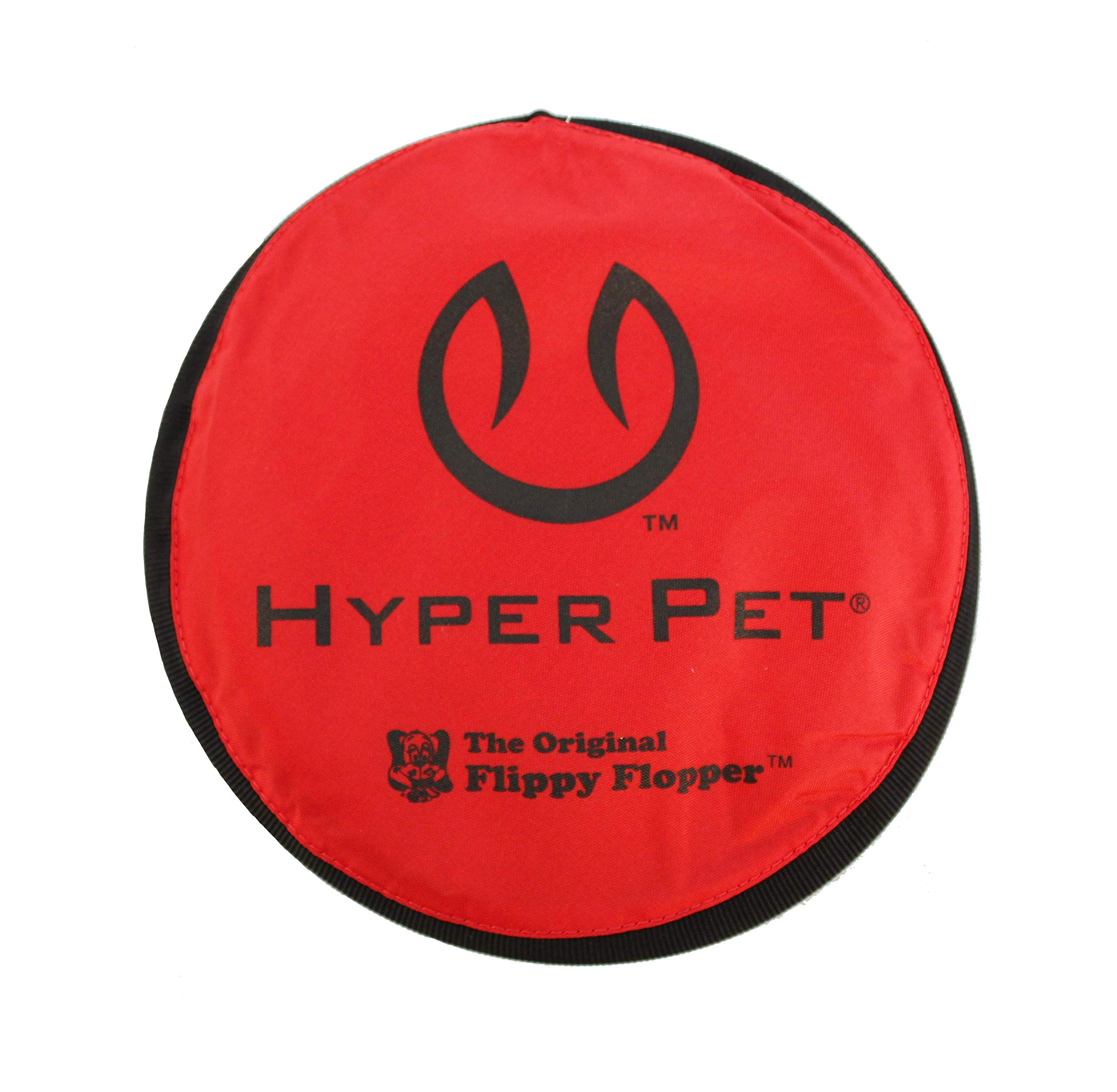 Hyper Pet Flippy Flopper Soft Dog Frisbee Interactive Dog Toy, Colors May Vary, Multicolor, 9''