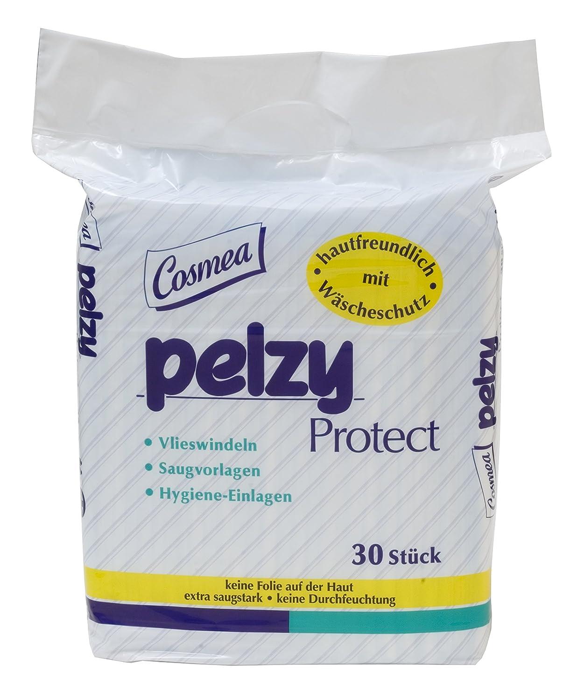 Pelzy Protect Vlieswindeln/Saugvorlagen, 30 Stück