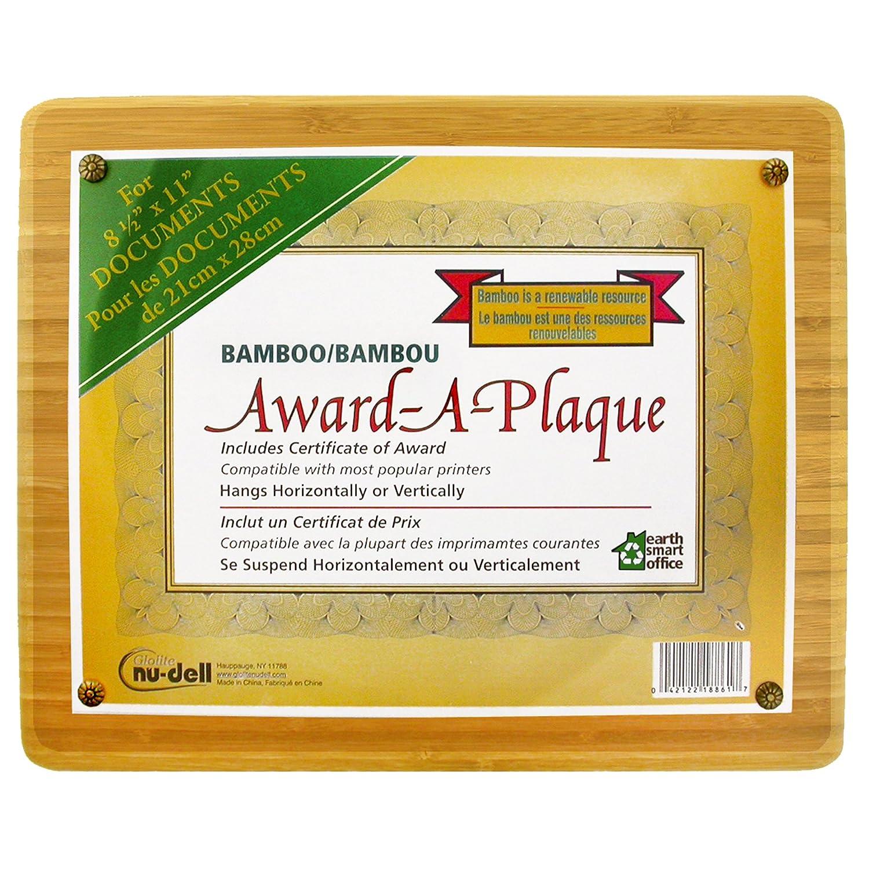 Nudell Bambus award-a-plaque rund Rand passt 21,6 x 27,9 27,9 27,9 cm Award 13  x 10.5  Natural Woodgrain B007UGIG4Y | Zu verkaufen  092365