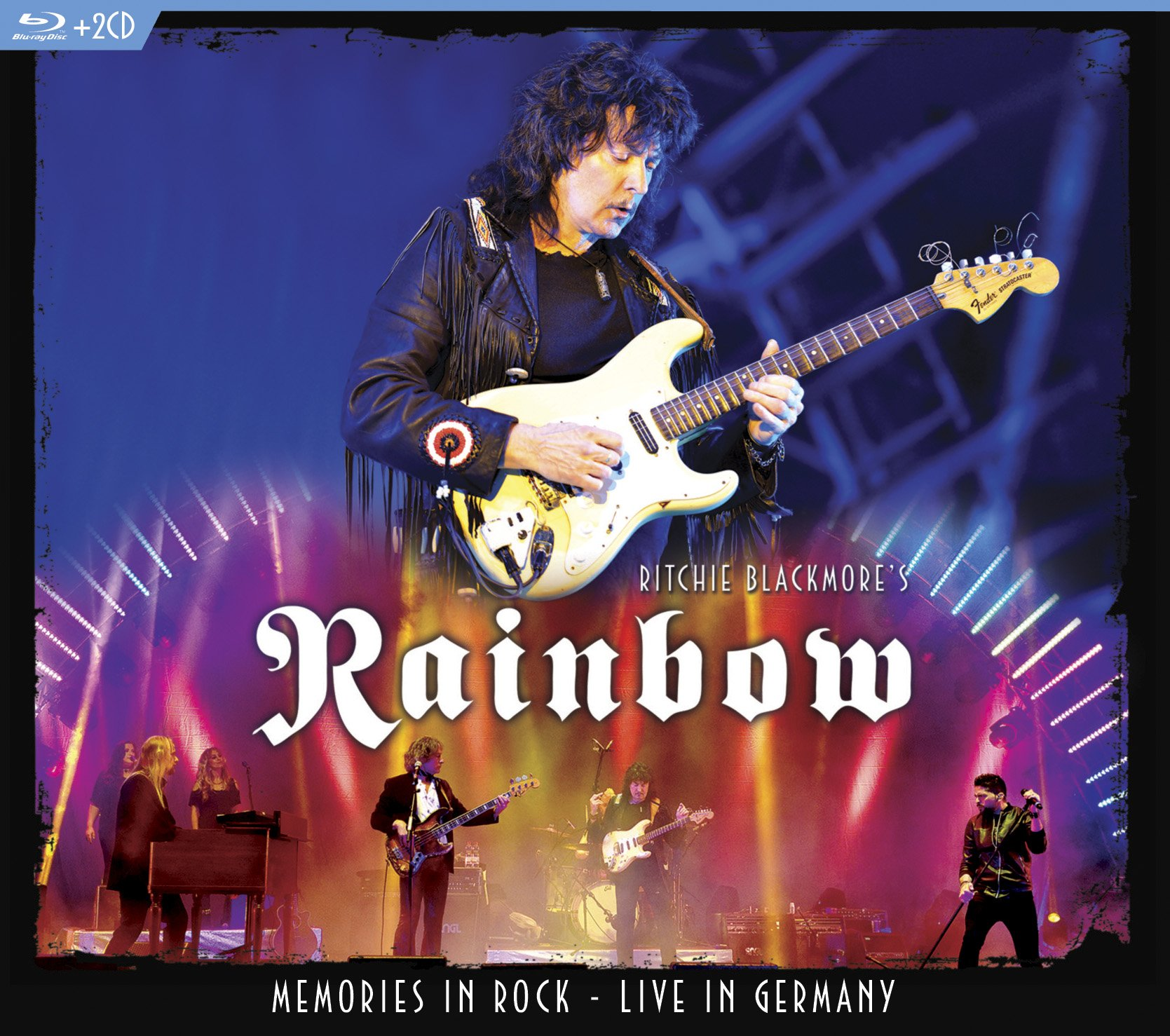 Blu-ray : Rainbow - Memories In Rock - Live In Germany (With CD, Digipack Packaging, 3 Disc)