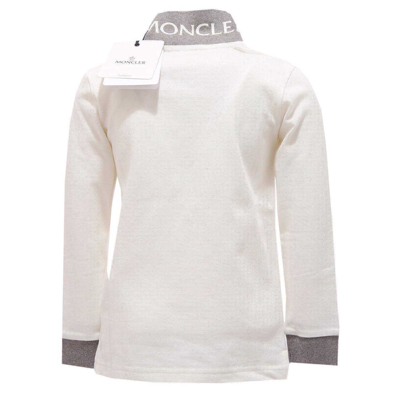 Moncler - Polo - para niño Bianco 110 cm: Amazon.es: Ropa y accesorios