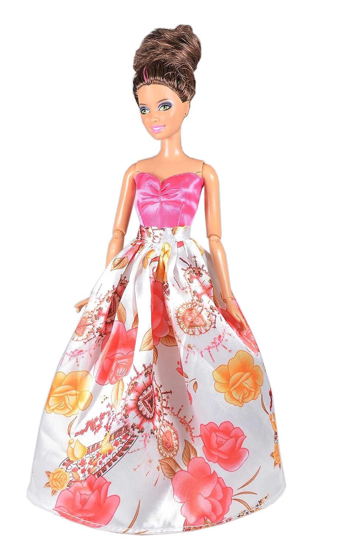 Amazon.es: AllDollModa ADM 1021 - Los vestidos de la sirenita (Set de 3, sin muñecas): Juguetes y juegos