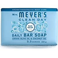 Mrs. Meyer's Clean Day Bar Soap, RainWater Scent, 5.3 ounce