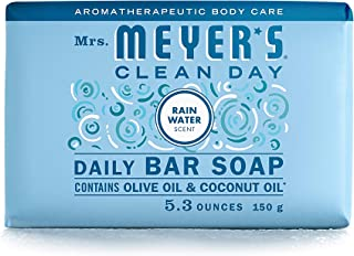 product image for Mrs. Meyer's Clean Day Bar Soap, RainWater Scent, 5.3 Ounce