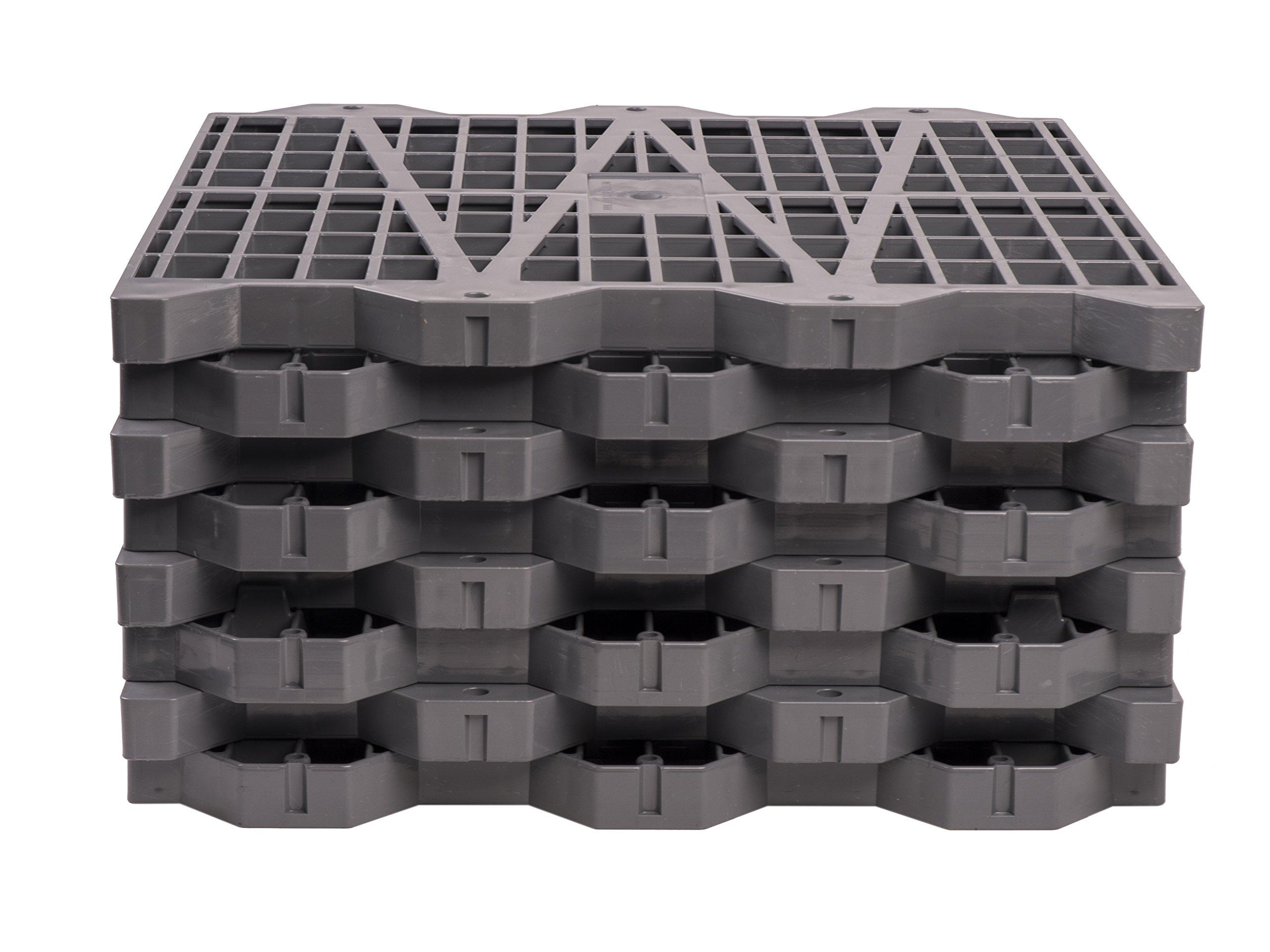 Metro Products 16''x16'' Attic Dek Flooring, 8-Pack