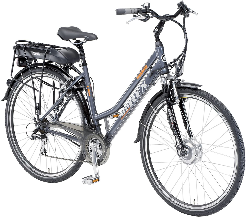 Alu-Rex 2973 - Bicicleta eléctrica para Mujer, Talla XL (185-195 ...