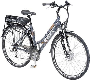 Alu-Rex 2973 - Bicicleta eléctrica para Mujer, Talla XL (185-195 cm ...