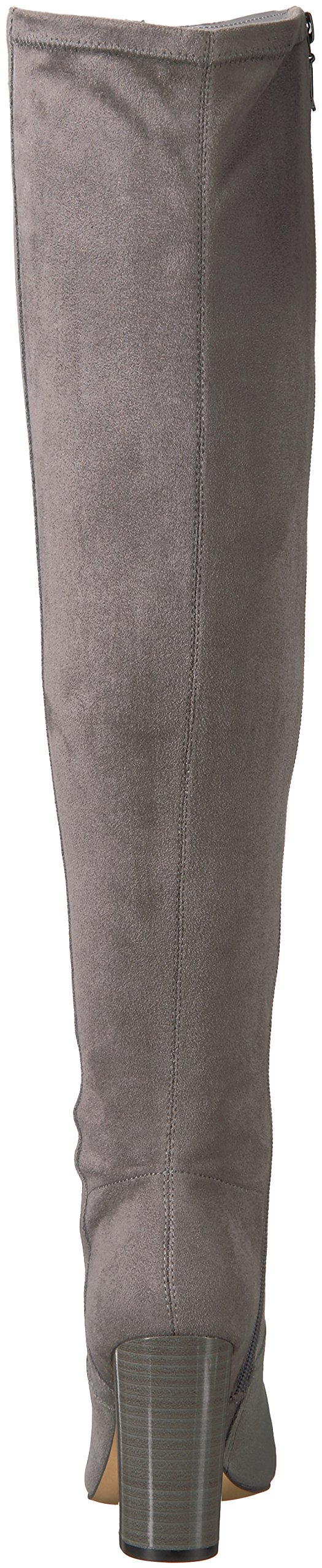 The Fix Women's Lyndsey Over-The-Knee Block-Heel Boot, Elephant Grey, 6.5 M US by The Fix (Image #2)