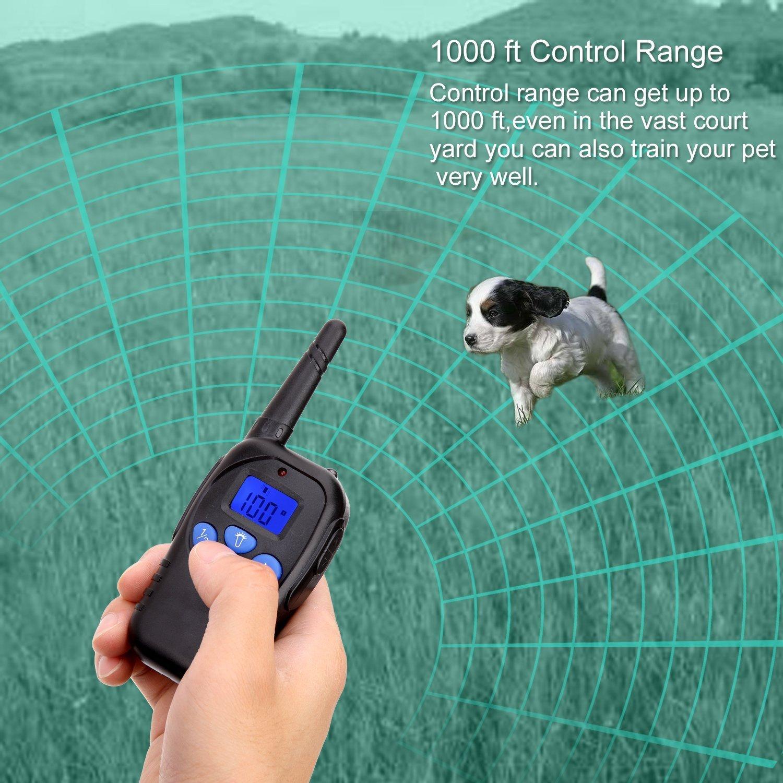 amazon com trainpark dog training shock collar with remote