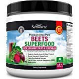 Beets Superfood Powder - Beet Root Powder with Vitamin C - with Organic, Antioxidant Rich Fruits & Vegetables - Boost Stamina