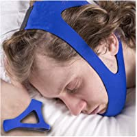 Stop Snoring CPAP Chin Strap & Anti Snoring Solution Snore Stopper Jaw Supporter Device for Better Sleep