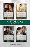 Historical Box Set 1-4/The Scandal of the Season/An Unconventional Countess/Rags-to-Riches Wife/Lilian and the Irresistible Duke