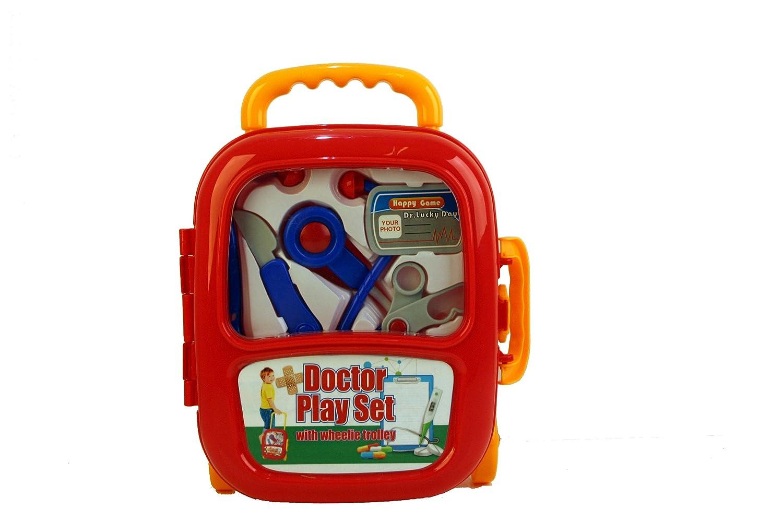 A to Z A a Z 37619 - Juego de Juego de médicos con Carrito de Ruedas: Amazon.es: Juguetes y juegos