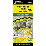 Adirondack Park [Map Pack Bundle] (National Geographic Trails Illustrated Map)