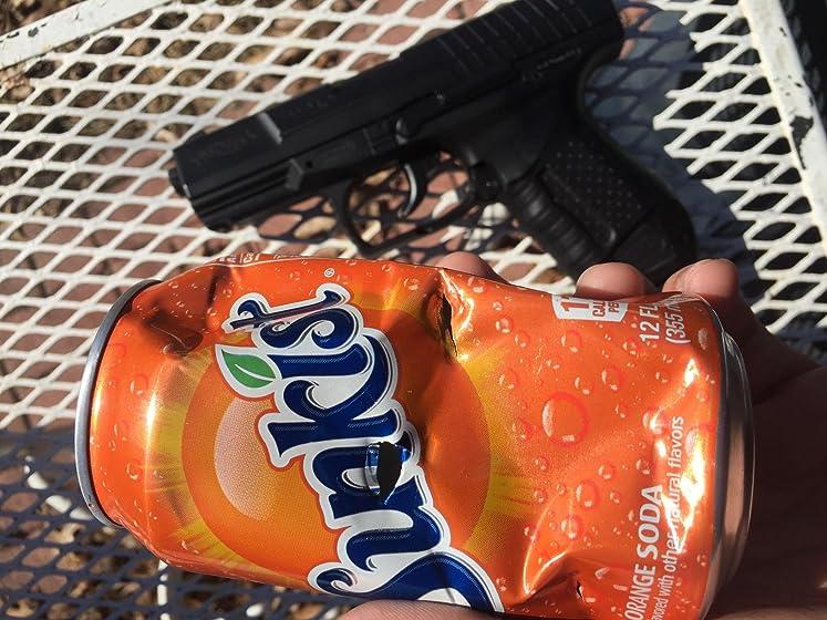 Umarex Walther 2262020 15 Rounds P99 Blowback Air Soft Pistol, 6mm, Black Upper metal. Grip plastic. Auto lock slider. No suppressor support.