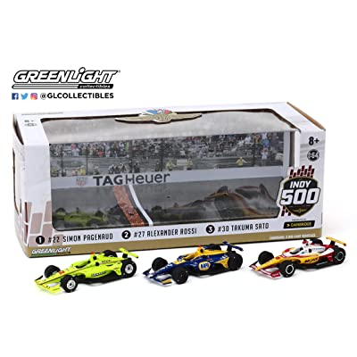 2020 Indy 500 3-Car Podium set by Greenlight: Sports & Outdoors