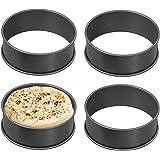 Wrenbury Crumpet Rings | Set of 4 Non Stick Crumpet Poachette Rings Food Rosti Egg Rings Crumpette | Make Perfect…