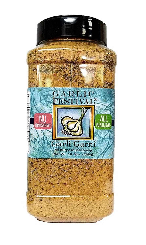 Garlic Festival Foods Garli Garni All Purpose Garlic Seasoning 25 oz.