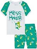 Amazon Price History for:Boys Pajamas 100% Cotton PJs Dinosaur Sleepwear for Kids 2 Piece Short Sets