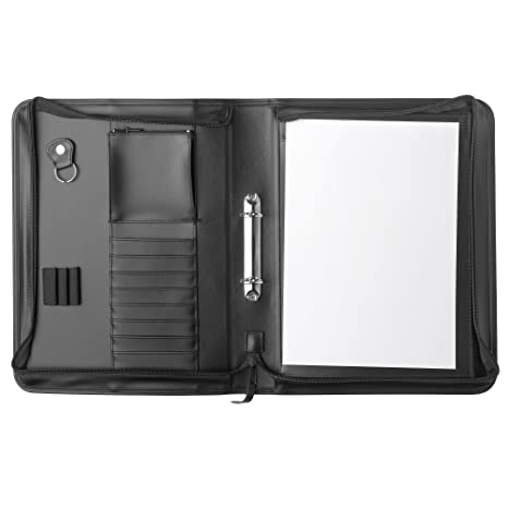 Amazon.com : Herlitz A4 Universal Portfolio - Black : Office ...