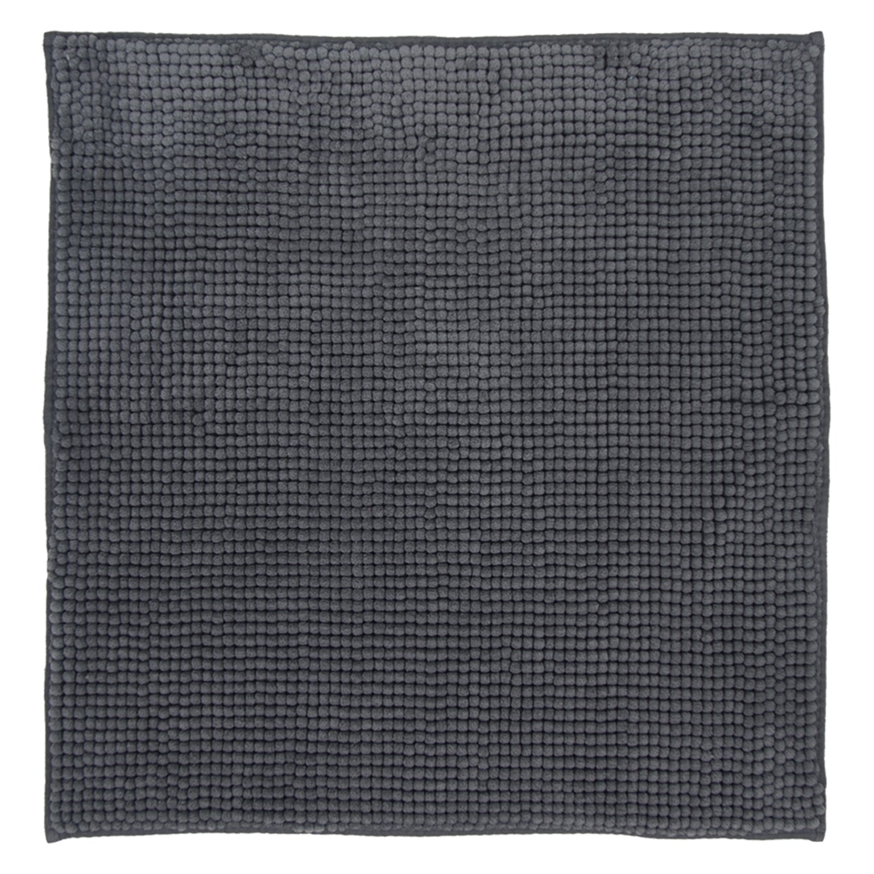 DIFFERNZ 31.220.04 Candore Bath Mat, Charcoal by Differnz