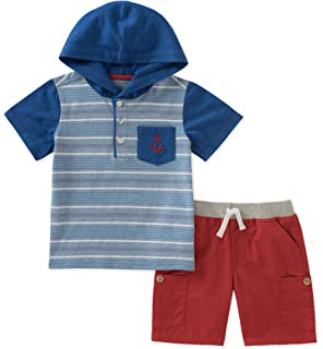 Kids Headquarters Boys Toddler 2 Pieces Shorts Set