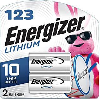 product image for Energizer El123apb-2 3 Volt Lithium Photo Battery, 0.32 Ounce, 123A 2 Count (EL123APB2)