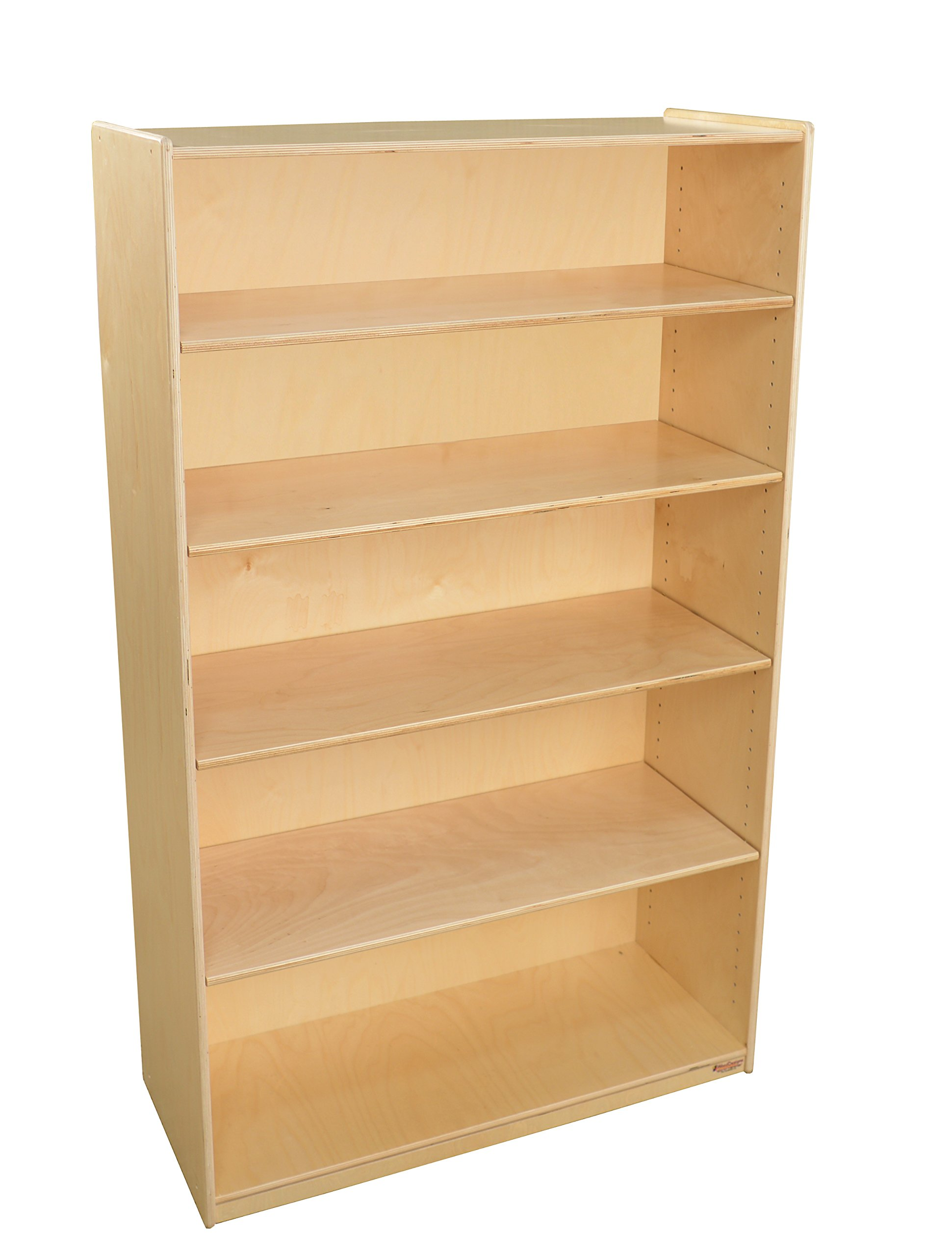 Wood Designs WD12960AJ Bookshelf with Adjustable Shelves, 59''-1/2'' H