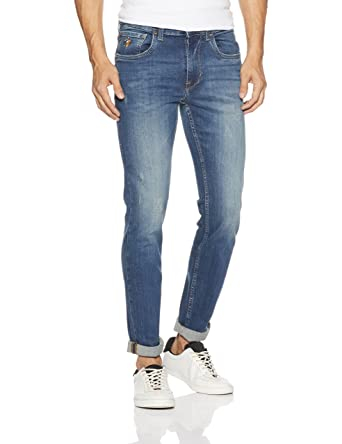 6f9d8150 US Polo Association Men's Skinny Fit Jeans: Amazon.in: Clothing ...