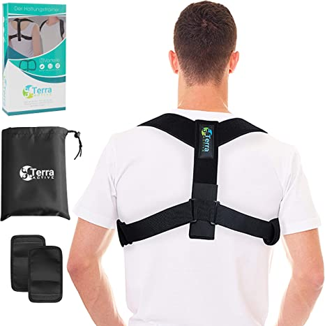 Terra Active Postura Trainer, Recta Plana Corrección de Postura ...