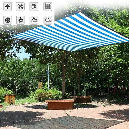 HLMBQ Malla Sombreo Pantalla para balcón Malla Ocultación HDPE Permeable Ideal Protector Visual con Ojales Estanque jardín Planta carport balcón 2 * 4m: Amazon.es: Hogar