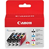Ink Cartridges Replacement for Inkjet Printers HOTCOLOR PGI-5 CLI-8 10 Pack PIXMA iP3300 iP4200 iP4300 iP4500 iP5200